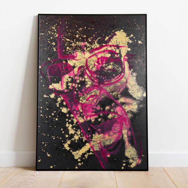 Mirko-Pugliese-Tattoo-Atelier-disegnatore-Taranto-ritratto-simbolico-surrealismo-ritratto-surrealista-color-colori-ritratti-uomo-donna-nero-oro