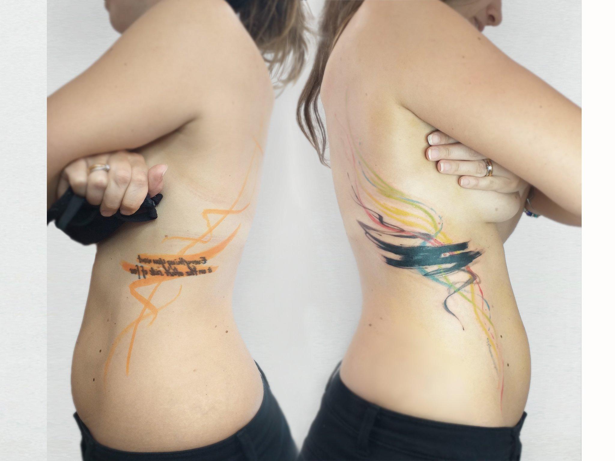 Copertura di un tatuaggio, cover up tattoo, modifica,  restyling o rimozione con laser: quale è la soluzione migliore?